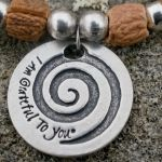 """I Am Grateful To You"" Gratitude Coin Bracelet"