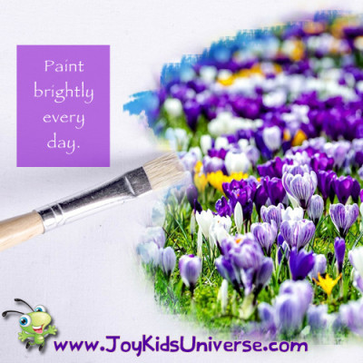Paint Brightly Every Day